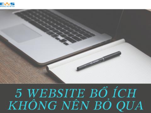 5 website bổ ích phát triển bản thân